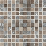 "Cordoba Grey Deco Mosaic Mix 1"" x 1"" (12"" X 12"" Sheet)Suwanee, Atlanta, Johns Creek, Buford, Duluth, Gwinnett, Alpharetta, Lilburn, Roswell,Flooring, Tile, Wood, Porcelain Tile, Ceramic Tile, Mosaic Tile, Mosaic, installation product sale, happy floors, h"