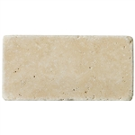 "Ivory Light Travertine Tumbled 3"" x 6"" Suwanee Johns Creek Atlanta Georgia"