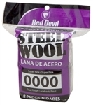 RED DEVIL STEEL WOOL # 0000