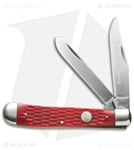 Boker TS Trapper Jigged Red Bone