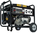 Steele Products Portable Generator - SP-GG600N, 6000 Watt, Gas
