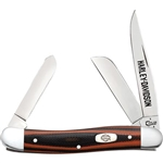 CASE CUTLERY HARLEY DAVIDSON MEDIUM STOCKMAN POCKET KNIFE