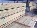 2X8 -10 #2 TREATED LUMBER