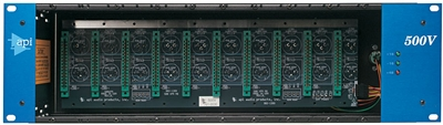 API 500 VPR 10 slot Rack with Power Supply