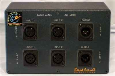 BAE 2-channel Line Mixer