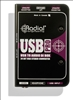 Radial USB Pro Stereo USB Laptop Direct Box