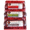 Wisconsin's Best's quality naturally hickory smoked 3 Pack summer sausage selection. Perfect for a gift or any snacking occasion, it is the very best. Rich with flavor,  1-12oz Original, 1-12oz. Garlic, 1-12oz. Jalapeno Pepper