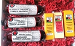 Holiday Free Shipping for a Limited time.  Wisconsin Cheese and Smoked Sausage Gourmet Gift Box