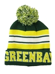 Green Bay Green/Gold Knit Hat