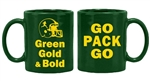 Go Pack Go Green Mug 11 oz.