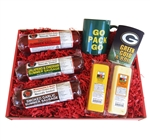 Packers Fan Deluxe Gift Basket