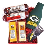 Packers Fan Fishing Gift Basket
