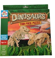 Kids Create Dinosaur Twin Pack Puzzle