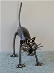 Scorpion Sculpture, Scrap Metal Art