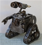 Wall-E Sculpture, Scrap Metal Art