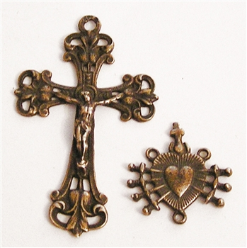 7 Sorrows Immaculate Heart Decorative Set