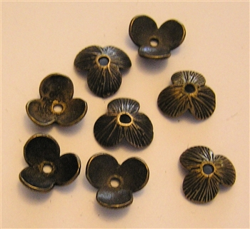 Three Petals Bead Cap 3/8""