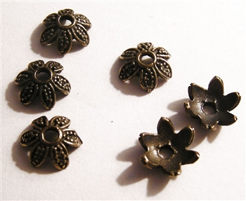 Petals Bead Cap 9mm