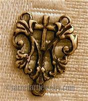 Small French Rosary Center 1/2""