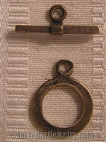 Clasp, Flat Ring and Bar 3/4""
