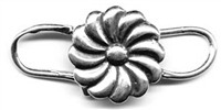 Clasp, flower 3/4""