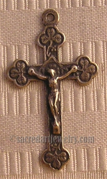Little Clovers Crucifix 2""