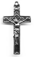 Small Radiant Crucifix 1 1/2""