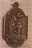 Sterling Silver 19th Century Holy Eucharist First Communion Medal