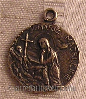 Saint Mary Magdalene, Marie Medeleine for Love Medal 7/8""