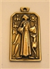 Saint Francis Medal by Fernand Py 1 1/8""
