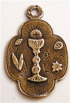 Chalice Eucharist Medal 1""