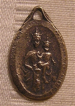 Our Lady of Mount Carmel Medal 7/8""