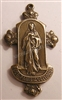655 - Medal, Monstrance with Jesus, Two Sided - 1 3/4"