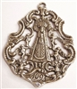 Virgin Mary with Four Angels, 1693 - 17th Century Medal 2""