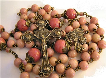 Mary with Roses Rosary