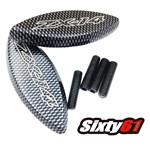 zx14 mirror block off carbon