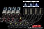 Yamaha YZF R1 2004-2008 Quad HID Conversion Kit
