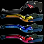 ninja brake clutch levers adjustable folding