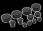 gsxr1000 07-08 rubber frame plugs