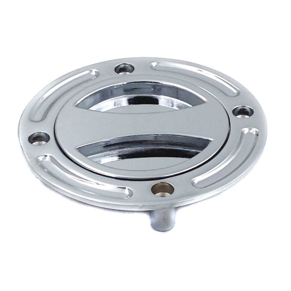 suzuki fuel cap chrome
