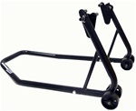 BLACK REAR SWINGARM MOTORCYCLE STANDS | HONDA, SUZUKI, YAMAHA, KAWASAKI