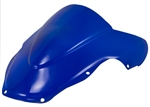 Suzuki GSXR 600 (2001-2003) / 750 (2001-2003) / 1000 (2001-2002) Blue Double Bubble Windscreen sixty61