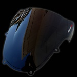 gsxr 01-03 double bubble smoke windscreen