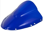 Suzuki GSXR 600 / 750 Double Bubble Windscreen 2004-2005 Blue Sixty61