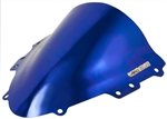 Suzuki GSXR 600 / 750 Double Bubble Windscreen 2004-2005 Chrome Blue Sixty61