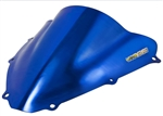 Suzuki GSXR 600 / 750 Double Bubble Windscreen 2006-2007 Chrome Blue Sixty61