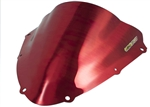 Suzuki GSXR 600 750 Double Bubble Windscreen (2008-2010) Chrome Red Sixty61