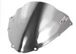 Suzuki GSXR 600 750 Double Bubble Windscreen (2008-2010) Chrome Silver Sixty61