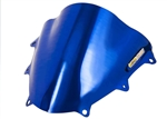 Suzuki GSXR 600 750 Double Bubble Windscreen 2011-2015  Chrome Blue Sixty61