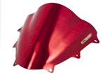 Suzuki GSXR 600 750 Double Bubble Windscreen 2011-2015 2016 Chrome Red Sixty61